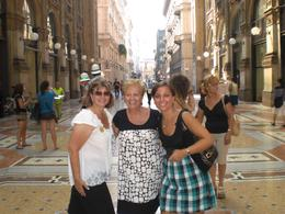 Three generations, my Nonna, mother and I in La Galleria during the tour. - September 2009
