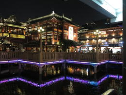 Photo of   Old Town Shanghai by night