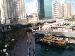 Circular Quay ferry terminals and promenade, eva_afta - November 2010