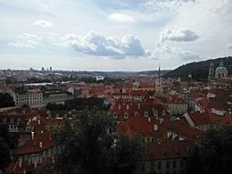 Photo was taken from the tall hill outside of the Hrad , rtinkov - September 2014