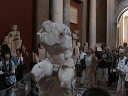 Photo of Rome Skip the Line: Vatican Museums Walking Tour including Sistine Chapel, Raphael's Rooms and St Peter's The Thinker