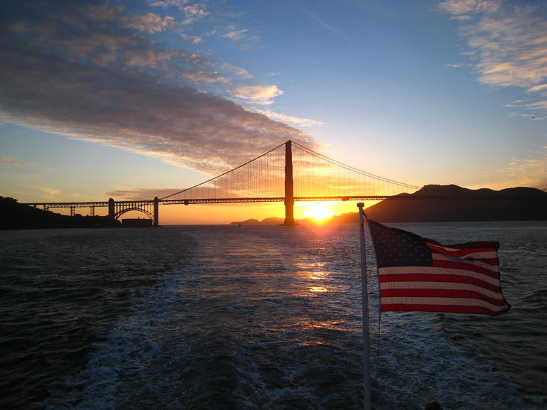 What a gorgeous sunset - San Francisco