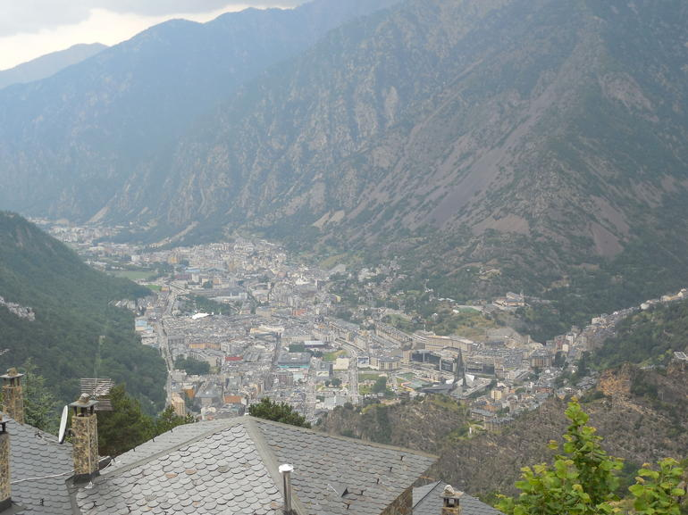 Andorra from the Mountains - Barcelona