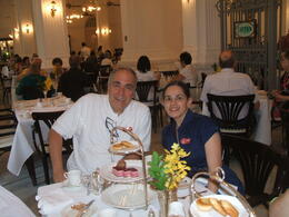 Raffles Hotel afternoon tea , Hernan A - April 2012