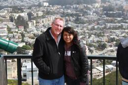 My daughter and I at Twin Peaks. I didn't even know this place was here. The view was awesome. , Donald K - June 2013