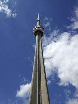 The CN Tower, the most iconic landmark in the city. , alwlights - October 2013