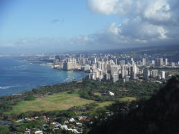 The view from the top of Diamond Head. , Greg A - May 2013