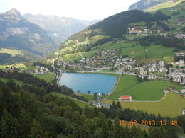 View from cable car to Mount Titlis , SHUBHANG V - September 2013