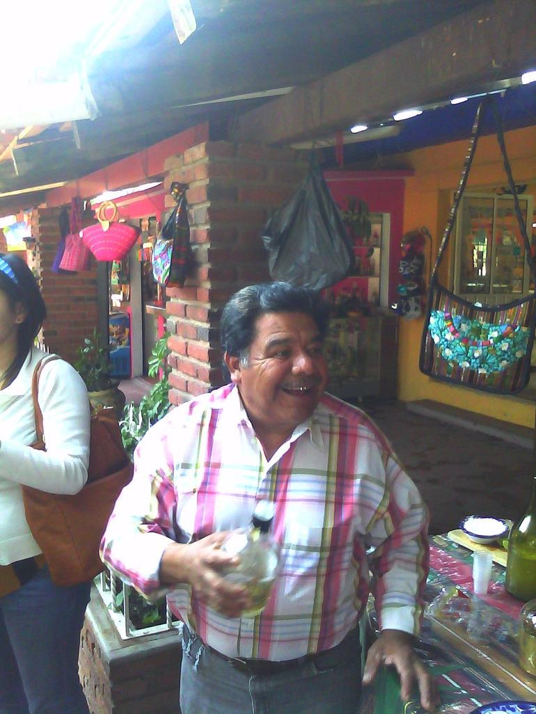 Have another drink-just make sure you buy something - Mexico City