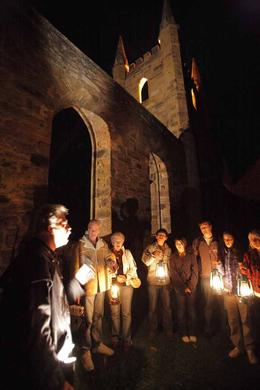 Take a spine-tingling Ghost Tour at the World Heritage-listed Port Arthur Historic Site in Tasmania, PortArthur - September 2010