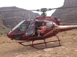 Photo of Las Vegas Grand Canyon All American Helicopter Tour Landing at the Grand Caynon