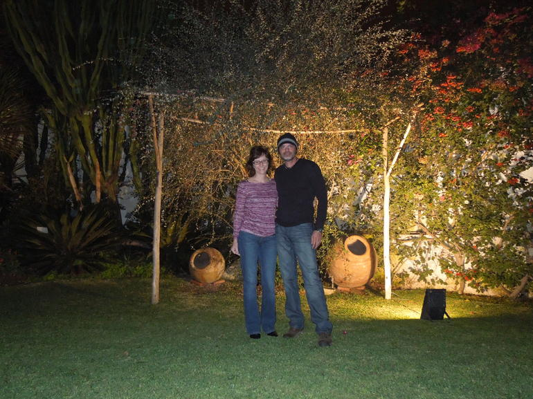 Larco Museum Garden at Night - Lima