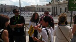 Photo of Rome Skip the Line: Vatican Museums Walking Tour including Sistine Chapel, Raphael's Rooms and St Peter's Our lovely and intelligent guide for this tour