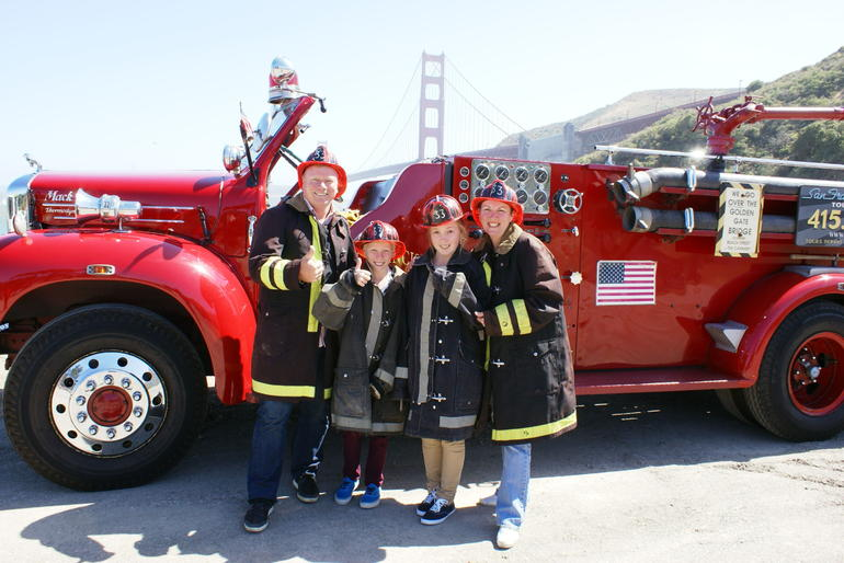 San Francisco Fire Engine Tour - San Francisco