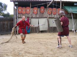 Photo of Rome Roman Gladiator School: Learn How to Become a Gladiator Steve in combat