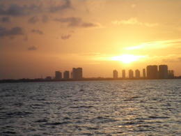 Photo of Cancun Caribbean Carnival Sunset