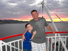Photo of Las Vegas Lake Mead Dinner Cruise Travis and Jace