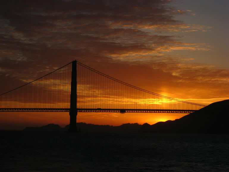 Truly Golden Bridge! - San Francisco