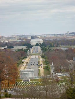 Photo of Washington DC Arlington National Cemetery and War Memorials Tour View of DC