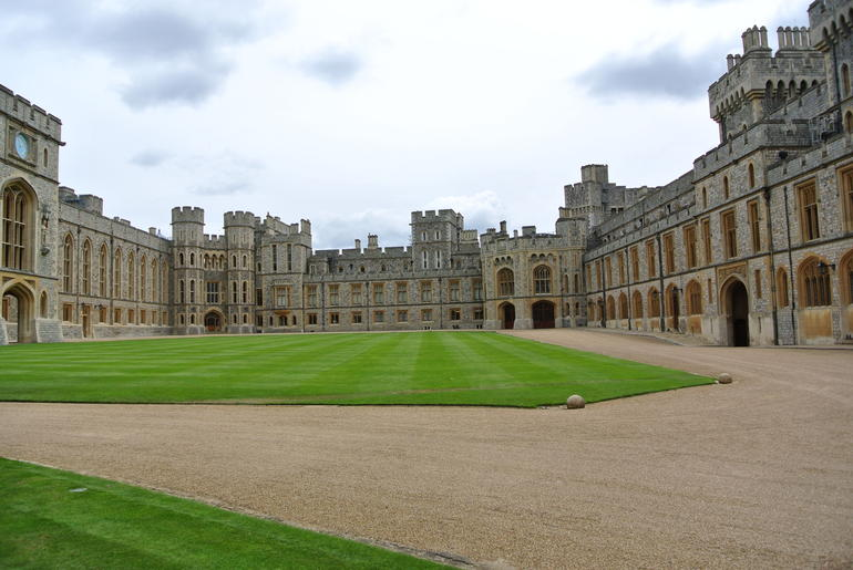 Windsor Castle Courtyard - London