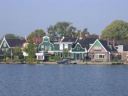 Photo of Amsterdam Amsterdam Super Saver: Zaanse Schans Windmills, Delft and The Hague Day Trip Wooden houses