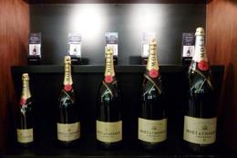 Various sized bottles available for sale at the Moet and Chandon Cellar Door , nag33m - June 2012