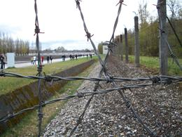 A view of the fence line. , Mikel M - April 2012