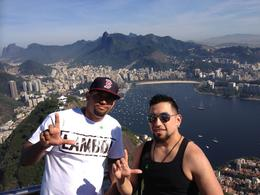 My fraternity brother and me at the top. , Gustavo A - July 2014