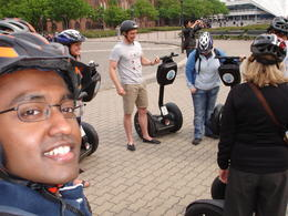 Berlin Segway tour , Anand L - May 2011