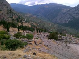 Temple of Apollo and ancient theatre , Stephen W - July 2013