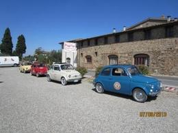 Photo of Florence Self-Drive Vintage Fiat 500 Tour from Florence: Tuscan Wine Experience Fiat 500 Convoy