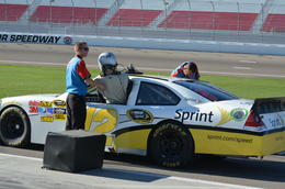 Photo of Las Vegas Las Vegas Race Car Driving - Richard Petty Rookie Experience Getting in the car