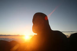 Cold sunrise at Haleakala , Todd H - December 2011