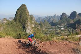 Photo of Guilin 5-Day Small-Group Yangshuo Bike Adventure with Rock Climbing, Hiking, Kayaking or Cooking Class Karst mountains