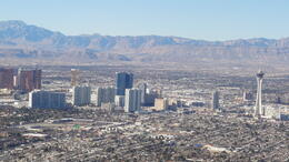 The tour ends with a low flight over the Las Vegas Strip! Great ending! :) , jasminetay - February 2013