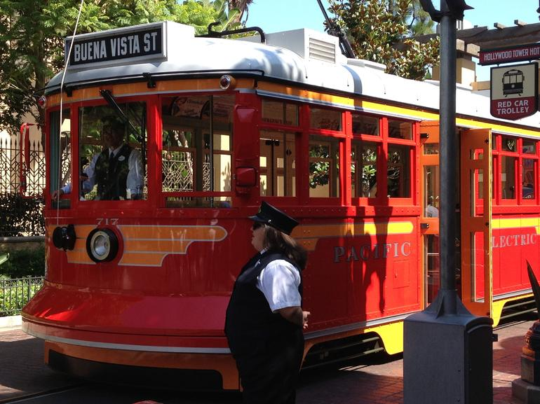 Red Car Trolley - Anaheim & Buena Park