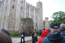 The tour group at the Tower of London , Peter B - June 2013