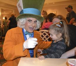 Photo of Orlando Disney Character Breakfast at Chef Mickey's Disney Contemporary Resort the Mad Hatter