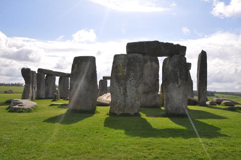 the stones of Stonehenge - London