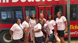 Here we are following the tour. It was a great experience. , Katrina W - November 2015