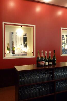 G H Mumm Cellar Door. A selection of wines were available for tasting. , nag33m - June 2012