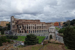 Photo of Rome Skip the Line: Ancient Rome and Colosseum Half-Day Walking Tour Colosseum from Palatine Hill