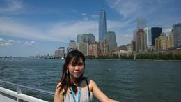 Ferry tour of New York Skyline and Statue of Liberty. , zean - August 2014