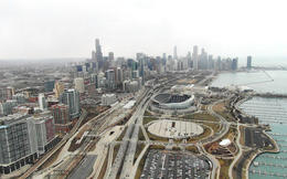 Great views of the city, Katie Aune - February 2013