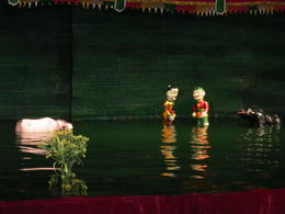 Photo of Hanoi Water Puppet Show with Buffet Dinner from Hanoi Here comes a buffalo
