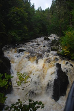 The waterfall at Hermitage , Judith M - September 2011
