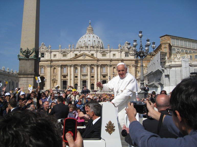 His Holiness Pope Francis - Rome