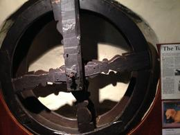 Dog wheel to turn the spit in fireplace , James N - June 2014