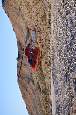 Photo of Las Vegas Grand Canyon West Rim VIP Helicopter Tour from Las Vegas Landing in the Canon