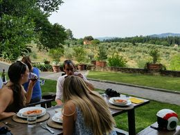 This is where we had our lunch -- lovely and relaxing! , Tanya G - June 2015